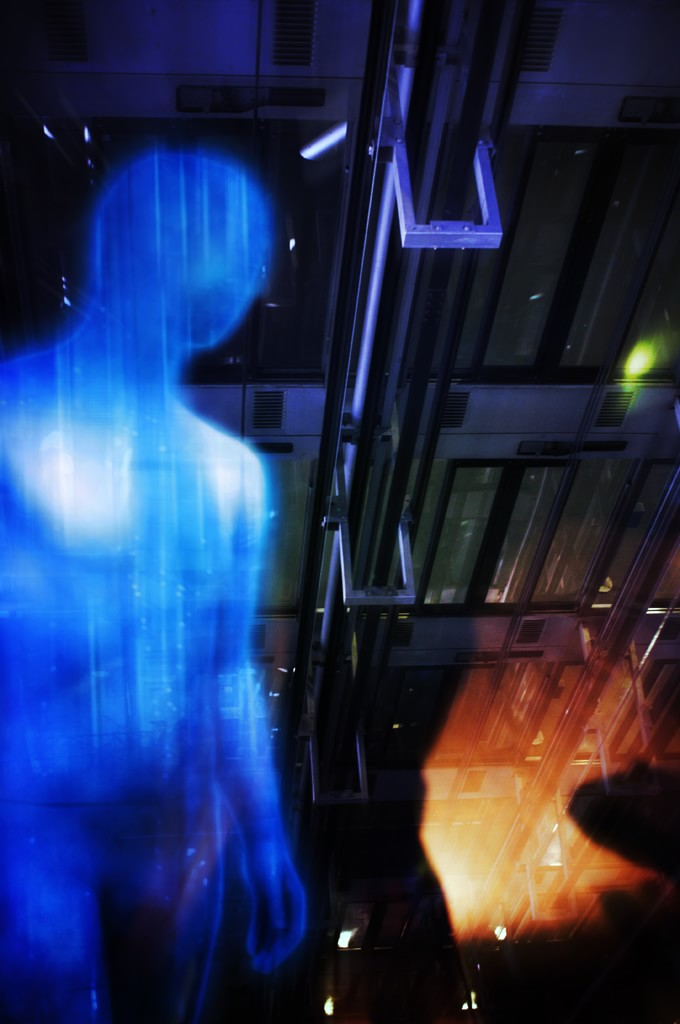 Dr Manhattan, photomontage