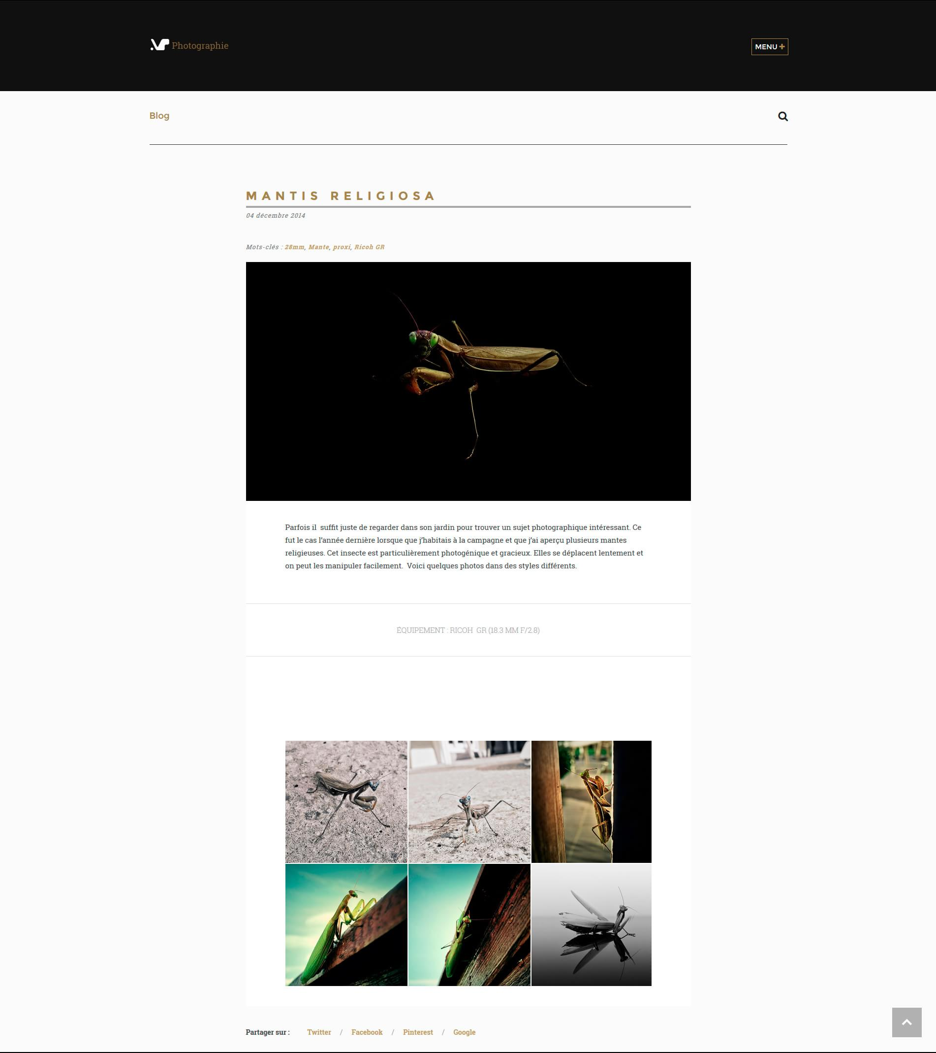 vp-photographie, page blog (article)